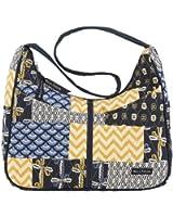 Bella Taylor American Charm Blakely Quilted Hobo Handbag