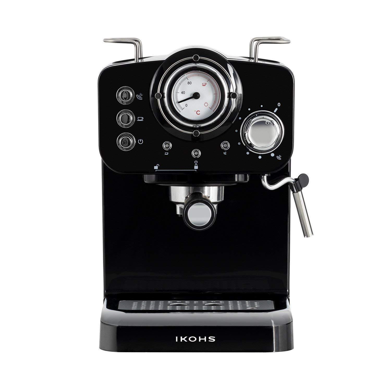 IKOHS THERA Retro - Cafetera Express para Espresso y Cappucino ...