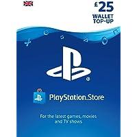PlayStation PSN Card 25 GBP Wallet Top Up | PSN Download Code - UK account
