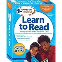 Hooked on Phonics Learn to Read - Levels 7&8 Complete: Early Fluent Readers (Second Grade | Ages 7-8)