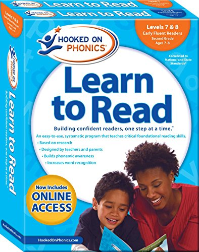 Hooked on Phonics Learn to Read - Levels 7&8 Complete: Early Fluent Readers (Second Grade | Ages 7-8) (4) (Learn to Read Complete Sets) (Hooked On Phonics Readers)