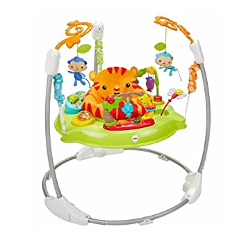 17da61bc41dc Amazon.com   Fisher-Price Roarin Rainforest Jumperoo   Baby