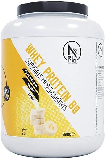 NXT Level Whey Protein 80 - Plátano 2000 g