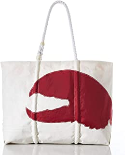product image for Sea Bags Recycled Sail Cloth Red Lobster Claw Tote