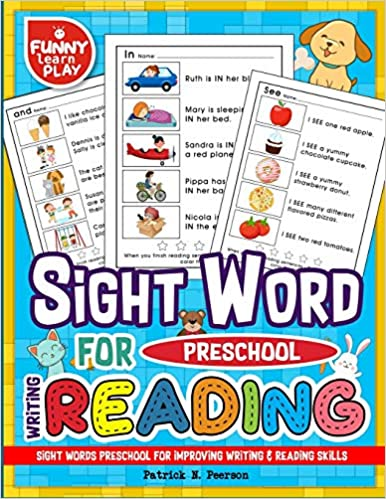 Book's Cover of Sight Words Preschool for Improving Writing & Reading Skills: Sight Word Books for pre-k Along With Cleaning Pen & Flash Cards: Volume 4 (Inglés) Tapa blanda – 16 agosto 2018