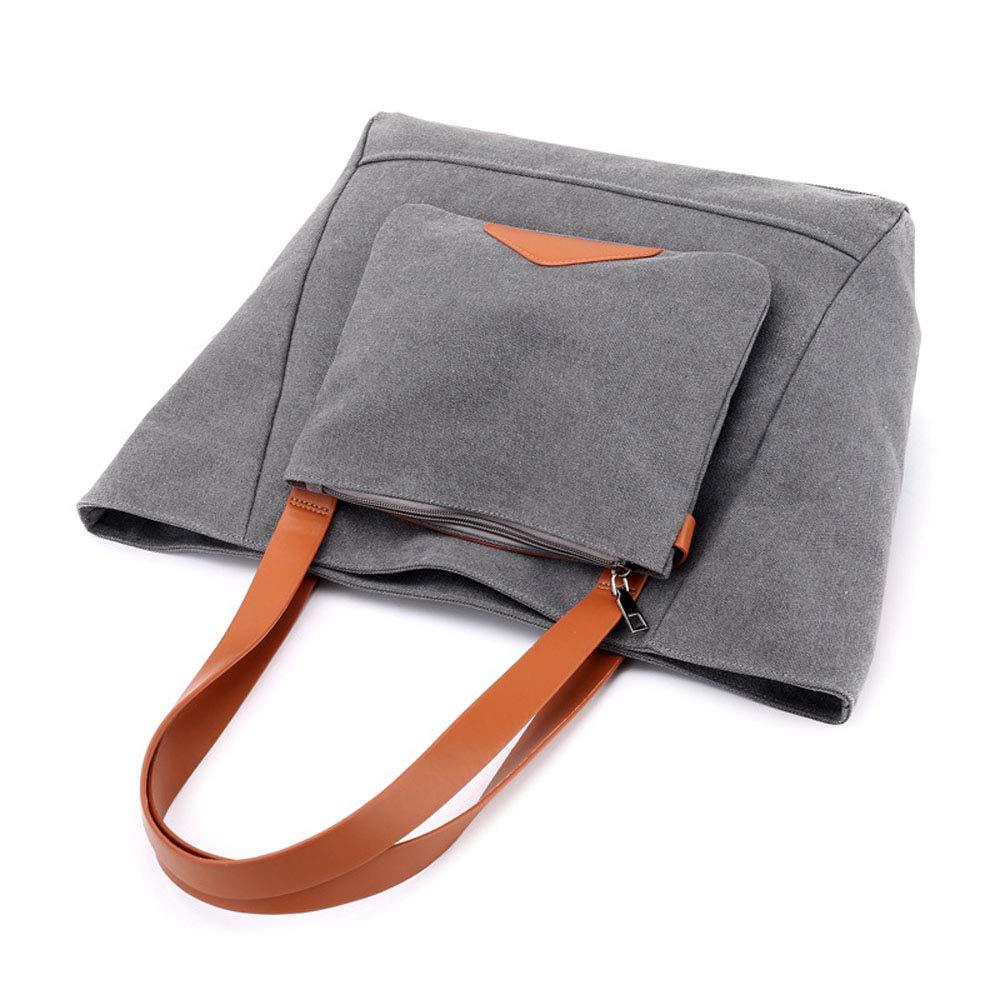 Umhängetasche der Frauen beiläufige Art und Weise große Muttertasche Pendler Pendler Pendler Canvas Tasche B07Q728KL7 Messenger-Bags 7e0bbb