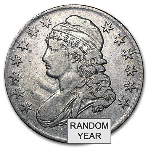 1808-1836 Capped Bust Half Dollars Avg Circ Half Dollar Very Good
