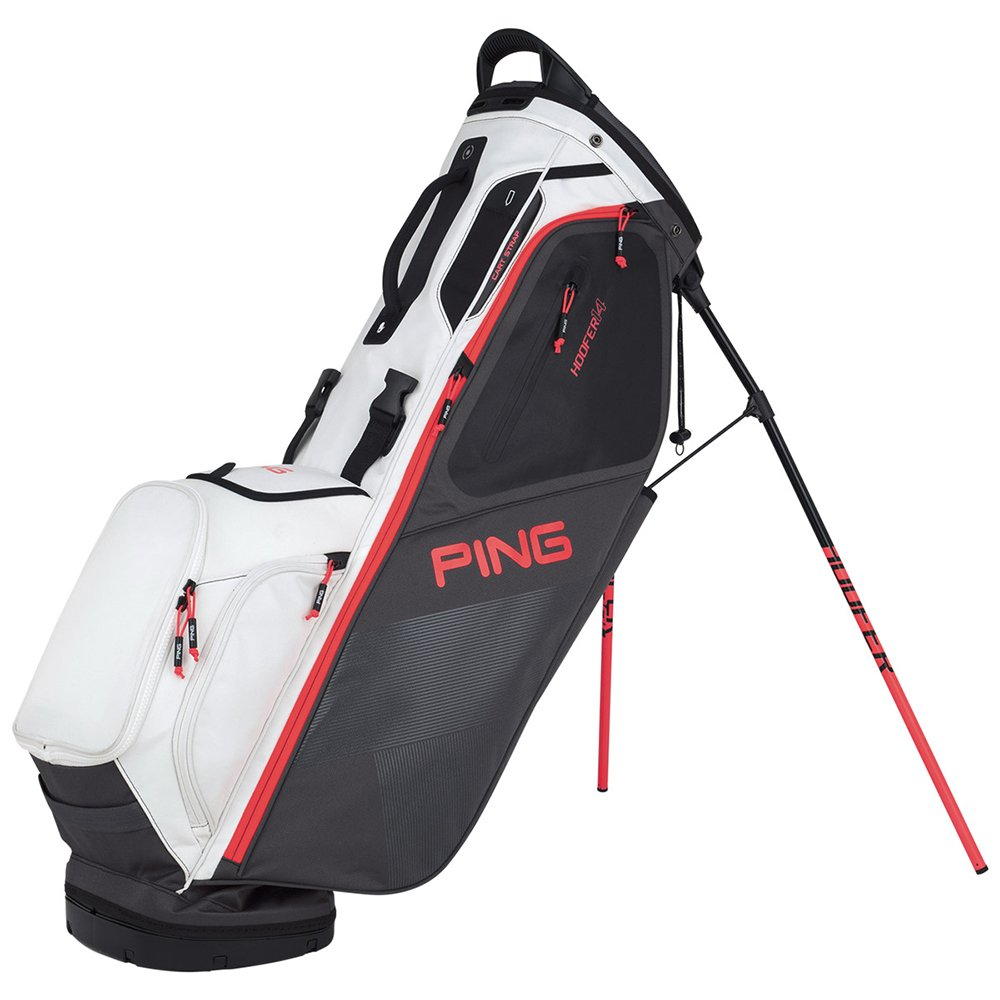 Ping 2018 Hoofer 14 181スタンドゴルフバッグ03 Graphite/White/Electric Crimson   B078XL8JRP