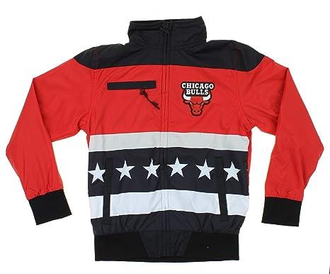002bb37b541 Amazon.com   Chicago Bulls NBA Big Boys Stars   Stripes Full Zip ...