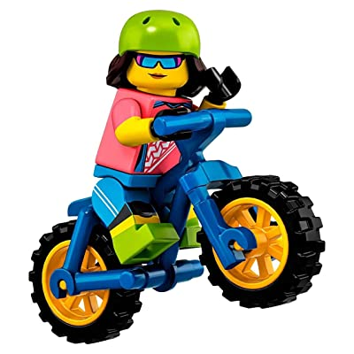 LEGO Minifigures Series 19 Female Mountain Biker Minifigure 71025: Toys & Games