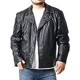 [ガレオネ] 大きいサイズ メンズ ジャケット PU レザージャケット ライダースジャケット