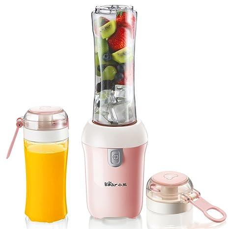 W&lx Extractor de jugos portátiles, Hogar automáticas frutas y vegetales de múltiples funciones mini estudiante