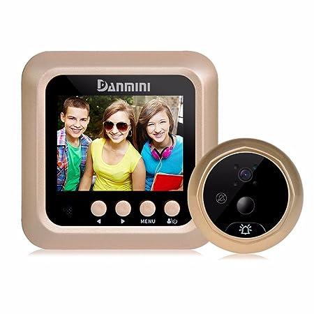 Trustful 2.4 Digital Lcd Peephole Viewer Door Eye Camera 160 Degree Home Peephole Door Viewer Photo Taking Video Recording Smart Camera Door Intercom Doorbell