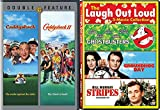 Stripes Bill Murray + Caddyshack 1   2 Comedy Feature Groundhog Day  Ghostbusters triple films