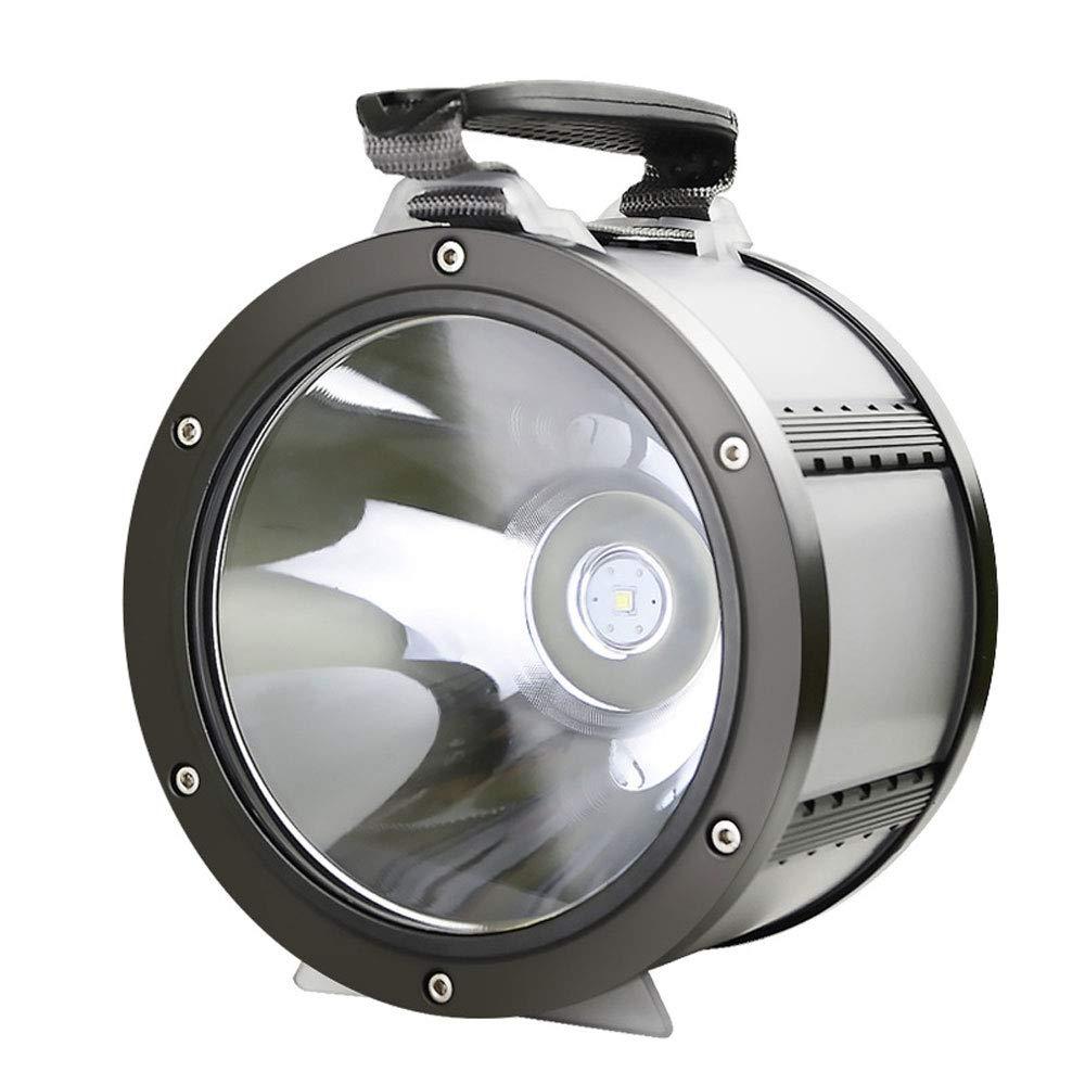 YYBT 100W Super-High-Power-LED-Suchscheinwerfer, 10800MAH wiederaufladbare Campingleuchte mit mobiler Leistung, IPX5 wasserdicht, geeignet für Outdoor-Abenteuer zweijährige Garantie