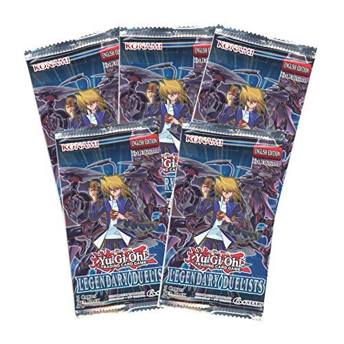 Yu-Gi-Oh Cards - Legendary Duelists - Booster Packs (5 Pack (Duelist Card)