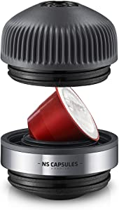 Wacaco Nanopresso NS-Adapter, Accessories for Nanopresso Portable Espresso Machine, Compatible with NS Capsules, Perfect for Traveling, Camping or Office Use