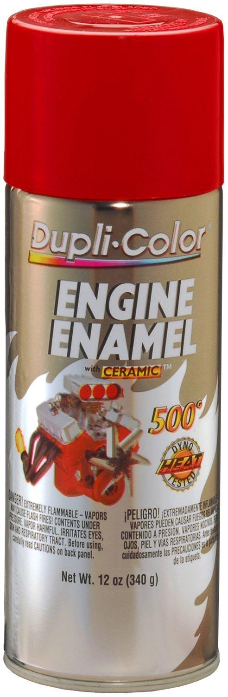 Dupli-Color EDE165307 Ceramic Red Engine Paint - 12 oz. by Dupli-Color