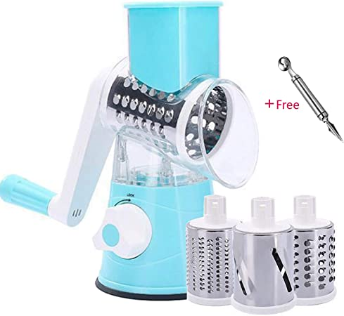 X Home Universal Slicer and Shredder Attachment for Kitchenaid Stand Mixer Cheese Grater Vegetable Chopper and Salad Maker Kit