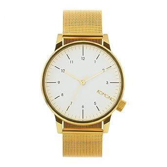 0282d9ab97 【 KOMONO コモノ 】 WINSTON ROYALE ウィンストンロイヤル 腕時計 うでどけい レディース メンズ ゴールド