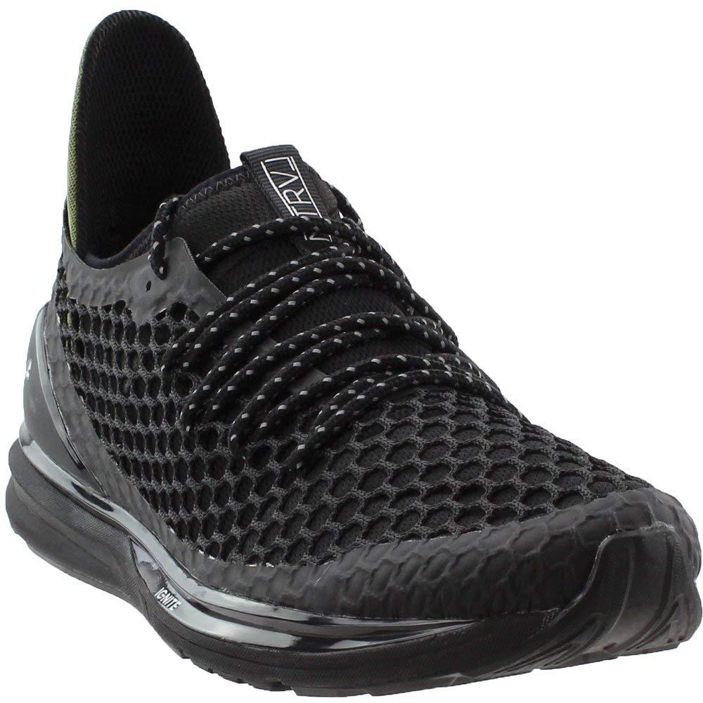 huge selection of 73006 a3646 Amazon.com   PUMA Men s Ignite Limitless Netfit Staple Puma Black Olive  Night 7 D US   Fashion Sneakers
