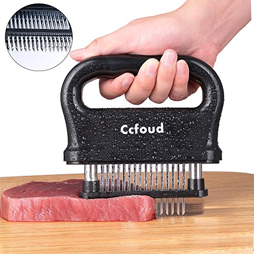 LIGHTENING DEAL! 5 STAR RATED STAINLESS STEEL MEAT TENDERIZER NOW ONLY $12.99!