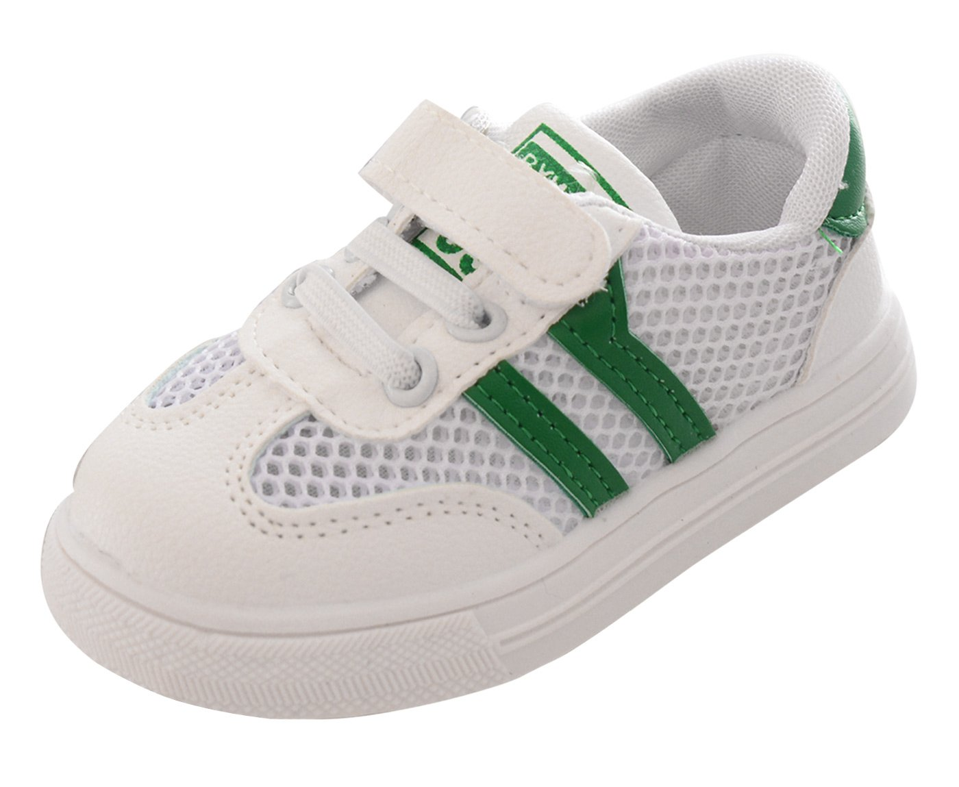 Happy Cherry Children Shoes Summer Kids Shoes with Sport Baby Boys Girls Sporting Sneakers Casual Children Sneakers Green 7 M