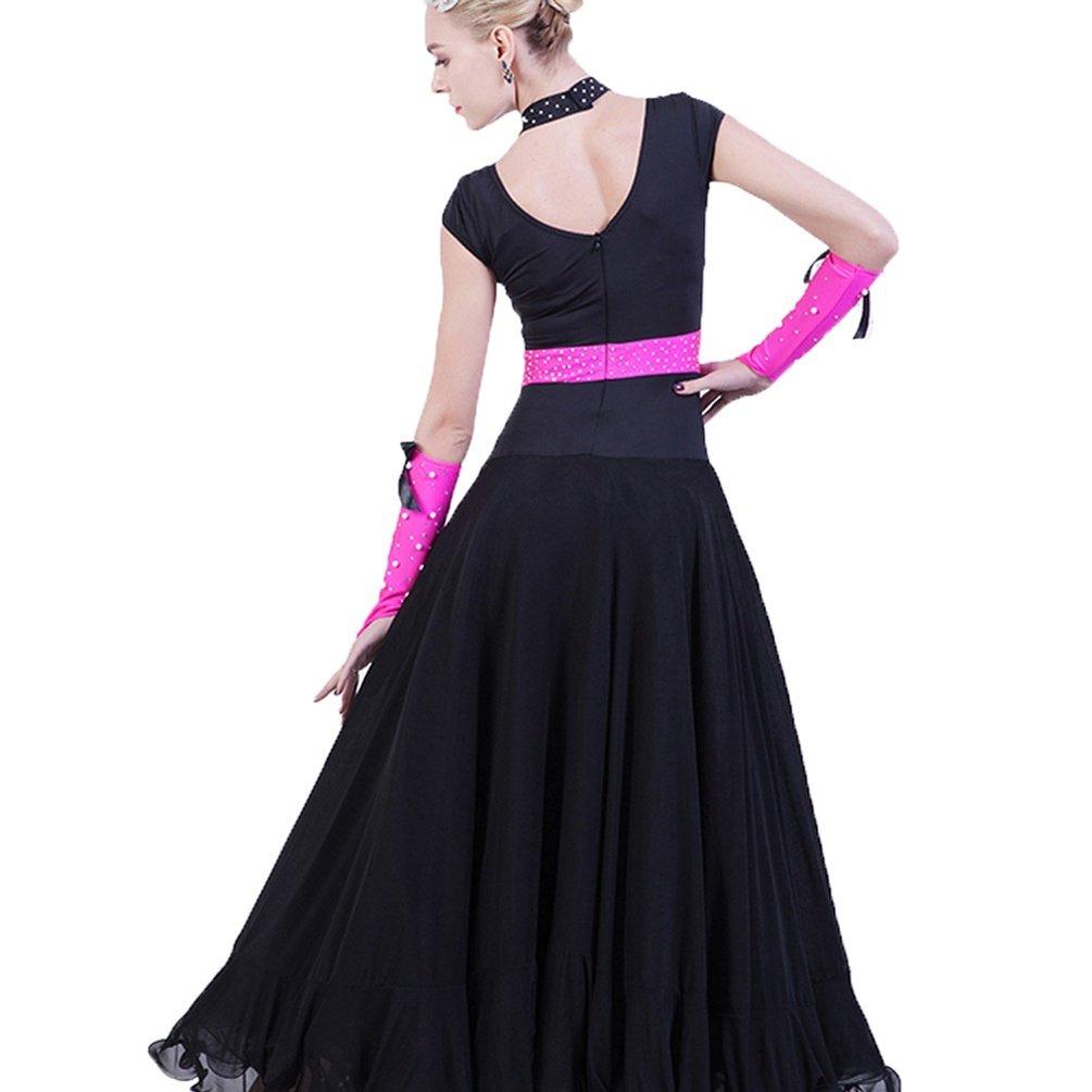 Rongg Walzer Walzer Walzer Tanz Performance Kostüm Für Frauen Wettbewerb Kleider Ärmellos Standardtanz Outfit Moderne Tanzabnutzung B07CN44CY9 Bekleidung eine breite Palette von Produkten 37bcea