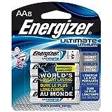 Energizer L91BP-8 AA Lithium Batteries, 8 Count