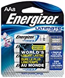 Kyпить Energizer L91BP-8 Ultimate Lithium AA Batteries (8-Pack) на Amazon.com