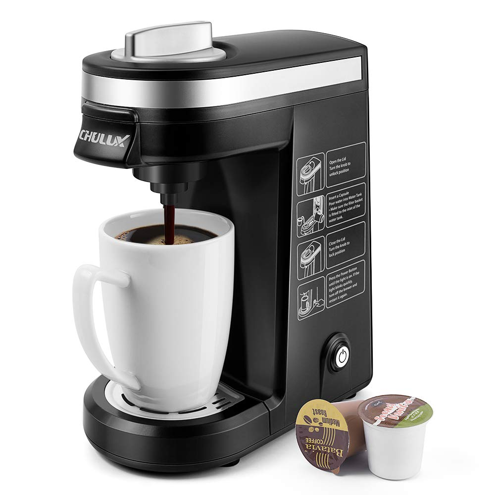CHULUX Single Serve Coffee Maker Brewer