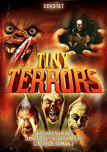 (Tiny Terrors 3-Pack: Shrunken Heads / Dangerous Worry Dolls / Gingerdead Man 2)