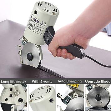 InLoveArts Máquina de corte de tela eléctrica de mano ...