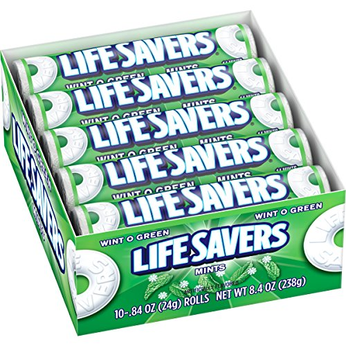 Lifesavers Wint-O-Green Candy 20 pack (14 ct per (Lifesaver Mint Candy)