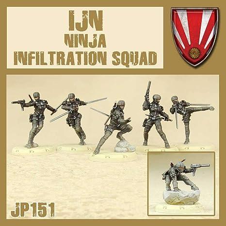 DUST 1947 - IJN Ninja Infiltration Squad