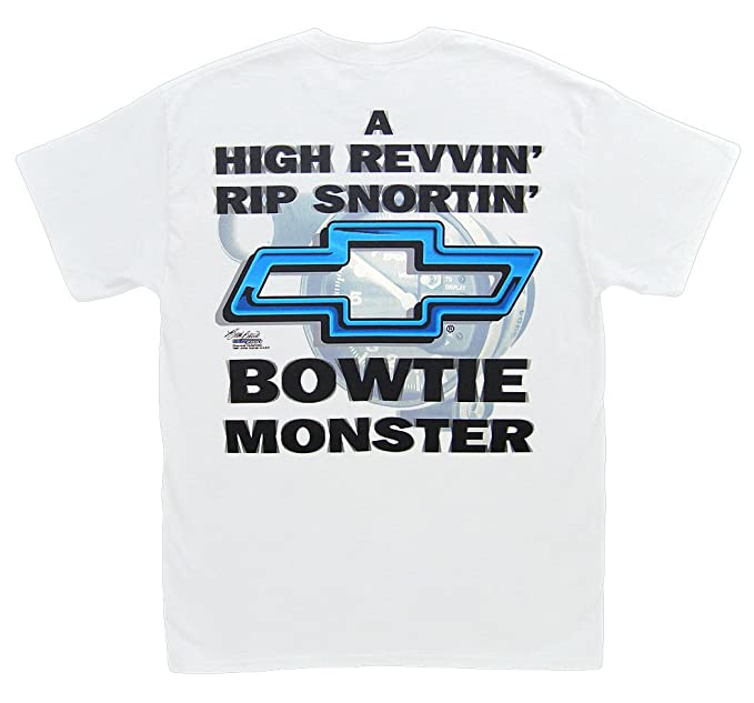 a00a5ee8 Hot Shirts Chevrolet Bowtie Monster T-Shirt: Small Chevy Racing SS Camaro  Chevelle Corvette