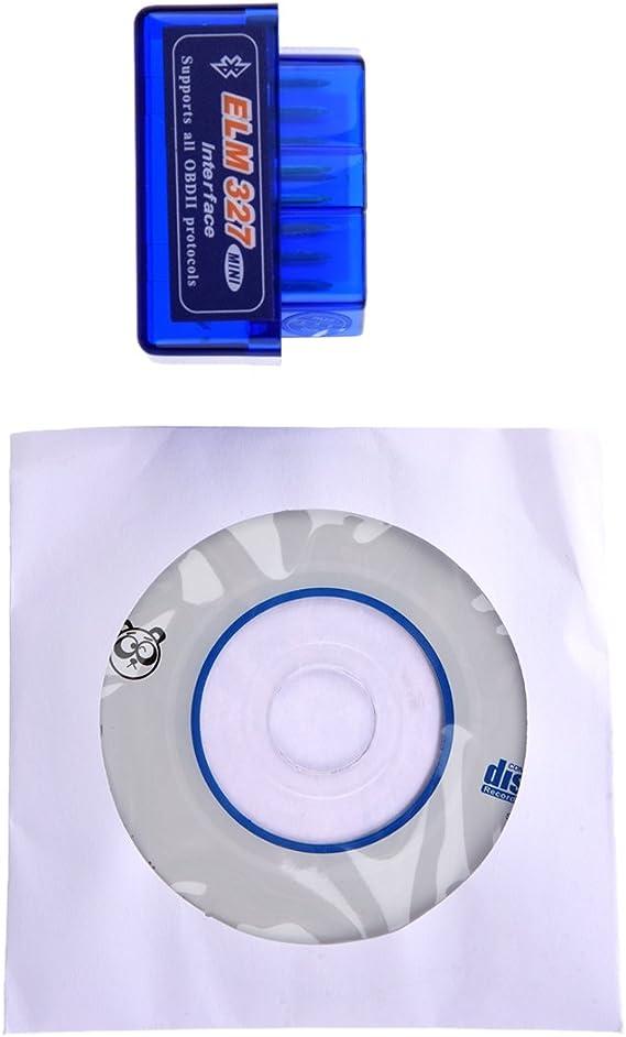 Naliovker Blu ELM327 Strumento di diagnostica Automatica Automobile attrezzo di scansione di Ultima Versione V2.1 Eccellente ELM327 OBD2 II per Windows