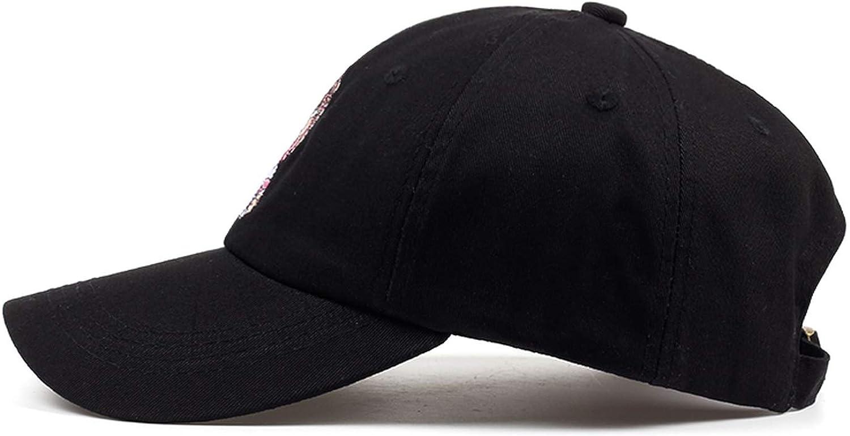 Wilbur Gold New Embroidery Black Dad Hat 100/% Cotton Men Women Fashion Baseball Cap Summer Hip-hop Rap Cap Hats