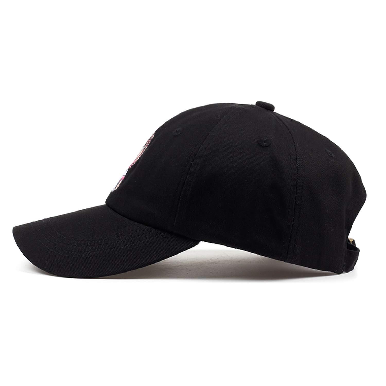 Ron Kite New Embroidery Black Dad Hat 100/% Cotton Men Women Fashion Baseball Cap Hip-hop Rap Cap Hats
