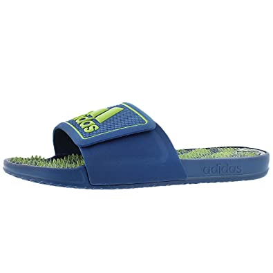 1c8357c2180b adidas Men s Adissage 2.0 Slide Sandal Blu Lime 12 M US  Amazon.co ...