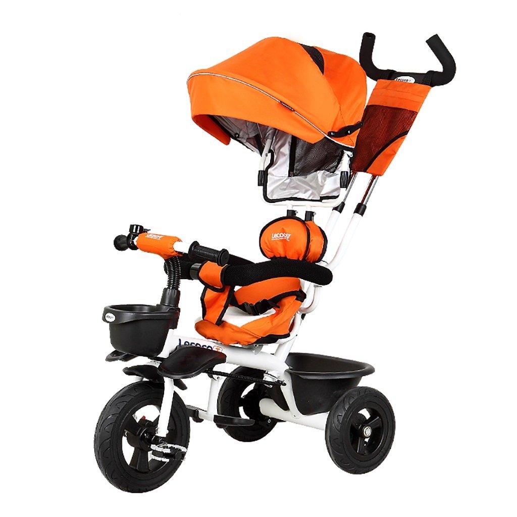 子供の金属プッシュベビー自転車/折りたたみ三輪車 (色 : C) B07DVDT8KZ C C