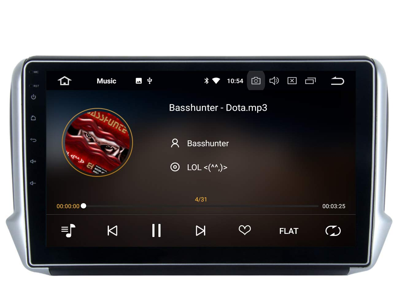 RoverOne 10 2 Inch Android System for Peugeot 208 2008 2012