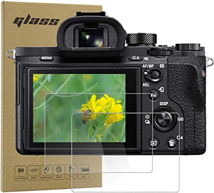 Celicious Vivid Invisible Glossy HD Screen Protector Film Compatible with Sony A7 Pack of 2