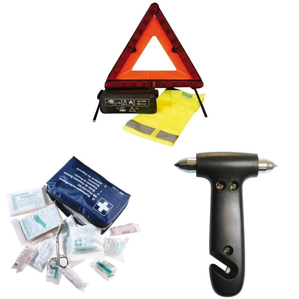 CORA 000126908 Kit di Sicurezza Triangolo Nano e Gilet Cora S.p.A