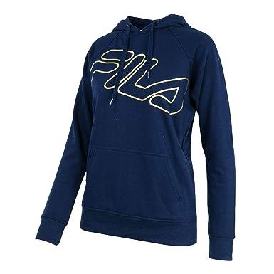 Amazon.com: Fila Vintage Pullover Sweatshirt Navy Blue: Clothing