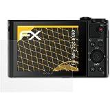 3 x atFoliX Screen Protector Sony DSC-HX90 Screen Protection Film - FX-Antireflex anti-reflective