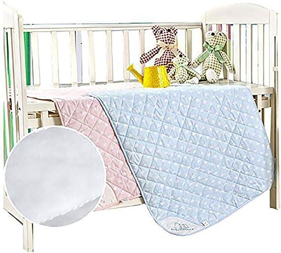 Rose Bedecor Lavable Etanche Lit Pad Incontinence Matelas antibact/érien,anti-acariens,pour B/éb/é Enfants Adultes 70x90cm