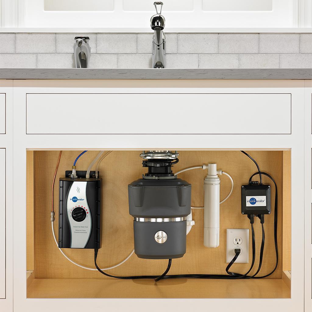 Insinkerator Cover Control Plus Evolution 3 4 Hp Household