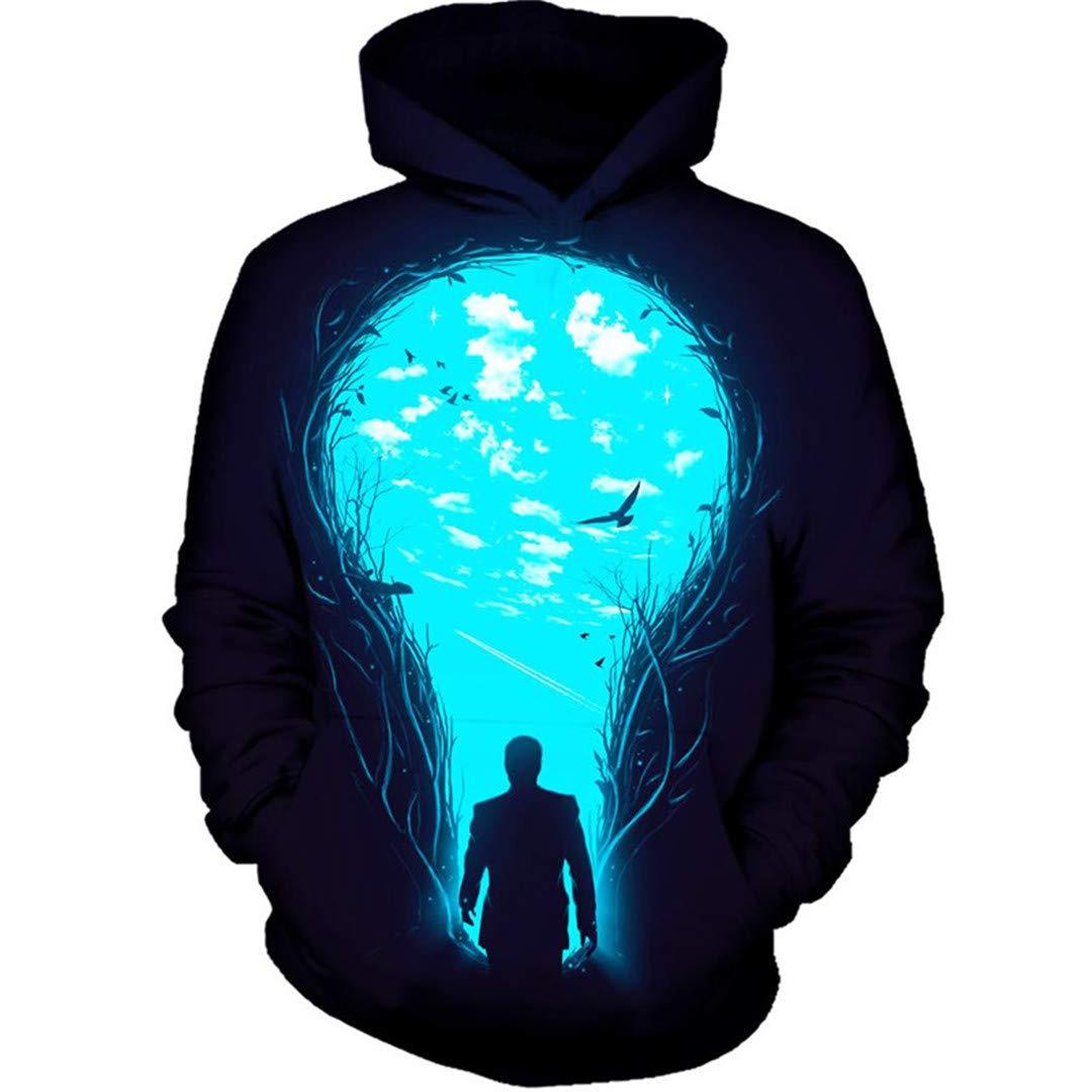 Herntty Long Sleeve Unisex Spring Autumn Sportswear Tracksuit Casual 3D Sweatshirt