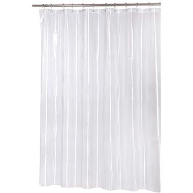Utopia Bedding Premium Mildew Resistant Shower Curtain Anti-Bacterial Heavy-Duty Waterproof Liner - 72 x 72 Inches